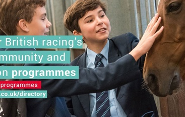 New Directory shows the power of the racing industry to support its communities and transform lives