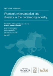 'Women's representation and diversity in the horseracing  industry'